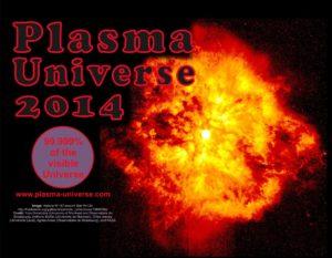 Plasma Universe Calendar calendar cover