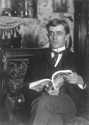 Irving Langmuir sitting